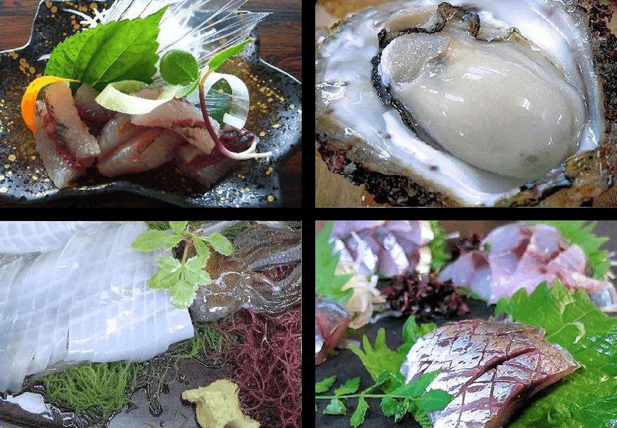 夏の潮香会席料理