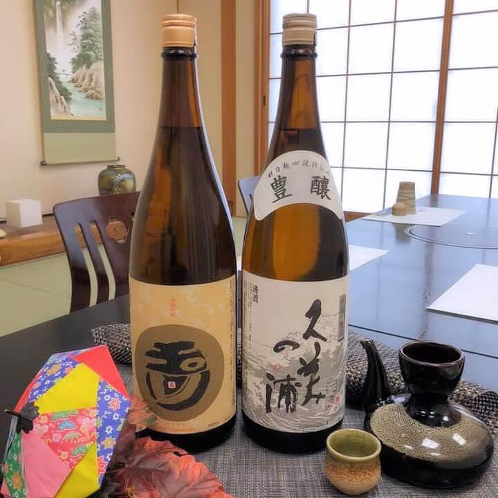 久美浜産地酒の試飲
