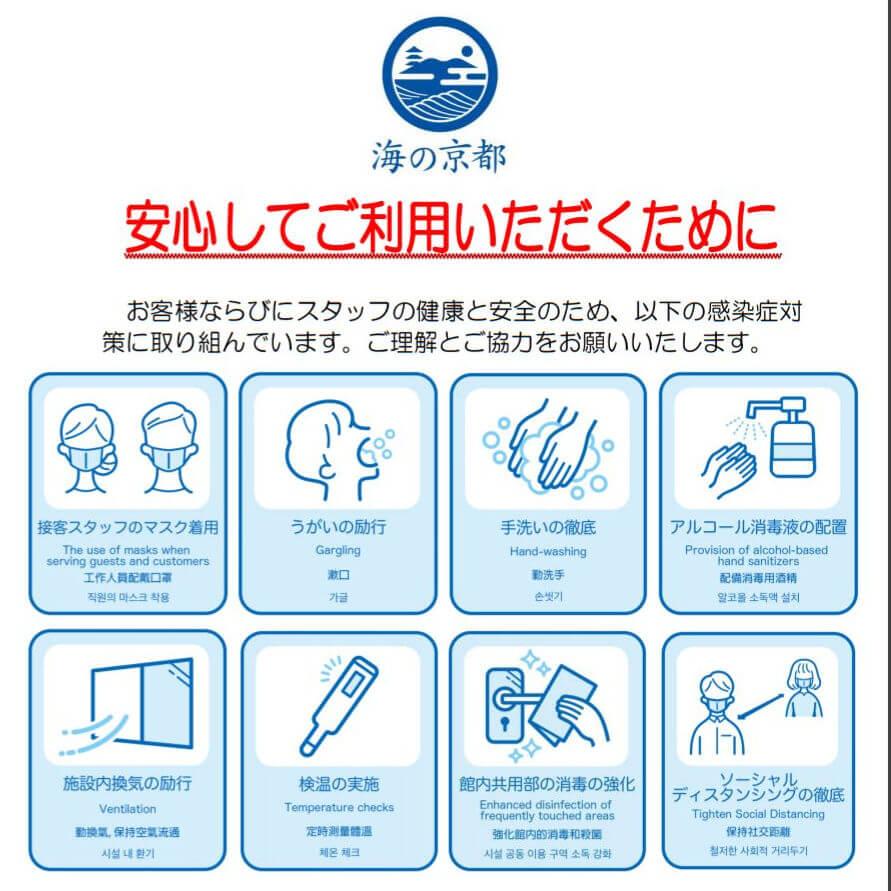 京丹後市観光公社新型コロナ対策