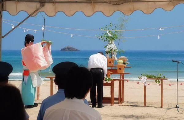 海水浴安全祈願式