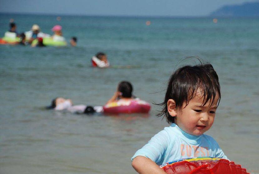 京都・丹後の海水浴場